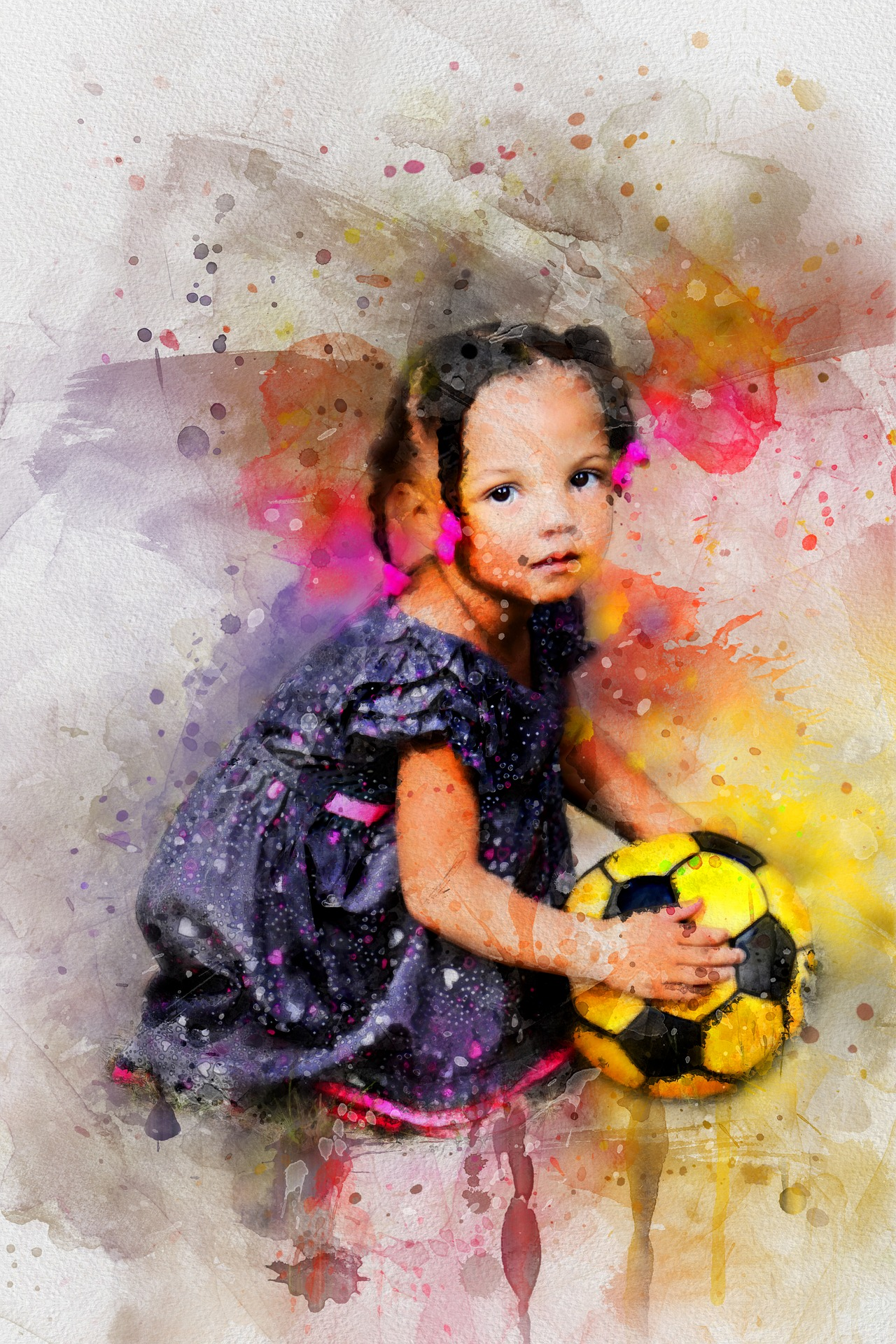 La petite fille qui voulait jouer au foot